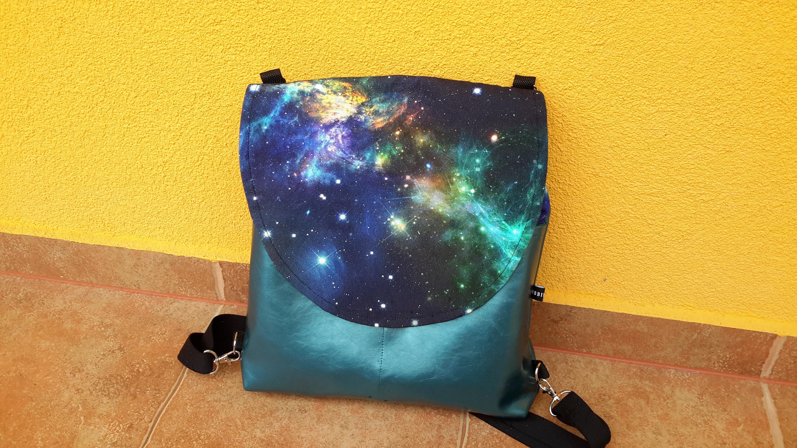 Galaxis-mintás többfunkciós táska (3in1) – Bobbin Creative 41365a7882